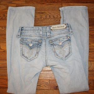 Rock Revival Jeans - Rock Revival Serena Boot Size 24 x 32